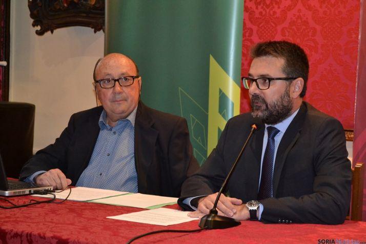Conferencia de Joaquín Alcalde sobre la Soria de los últimos 50 años