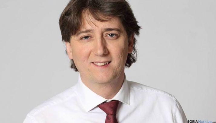 Carlos Martínez Mínguez, alcalde socialista en Soria.