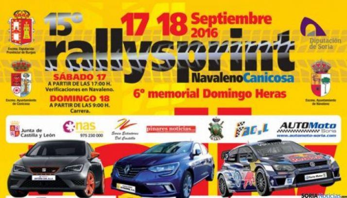 XV Rallyesprint Navaleno-Canicosa, Soria.