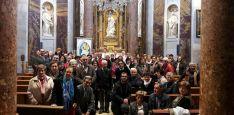 Los fieles en la catedral burgense./DOS