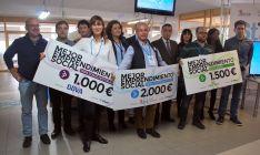 Una imagen de la entrega de premios de El Hueco Starter./SN