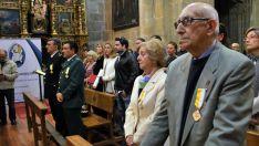 Una imagen de la ceremonia este martes. / SN