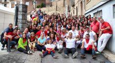 Jóvenes agredeños en San Miguel '16.