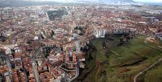Vista aérea de la capital soriana. / SN