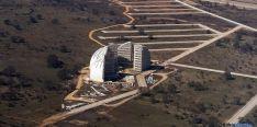 Vista aérea de las cúpulas del PEMA. / SN