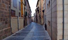 Una de las calles del casco viejo de Soria./SN