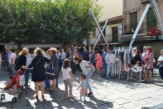 Baile público amenizado por 'Estrella Central' en la plaza San Clemente'. /SN