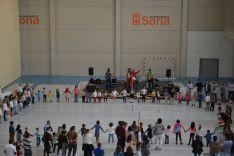 Actividades infantiles durante la primera jornada de San Saturio. /SN