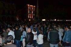 Concierto de La Unión en la plaza Mayor de Soria. /SN