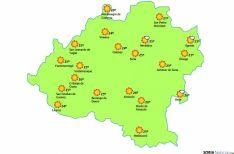 El mapa para este martes 4./eltiempo.es