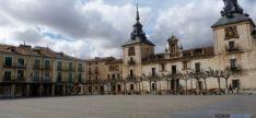 Imagen de la plaza Mayor de El Burgo./SN