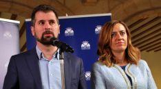 Tudanca y Barcones este viernes en Soria./SN