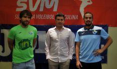 Terés, (izda.), Romera y Ruiz este martes./SN