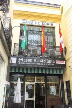 Casa de Soria en Sevilla