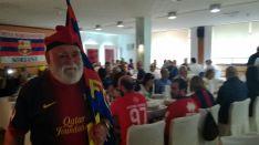 25 aniversario de la Peña Barcelonista Soriana. /SN