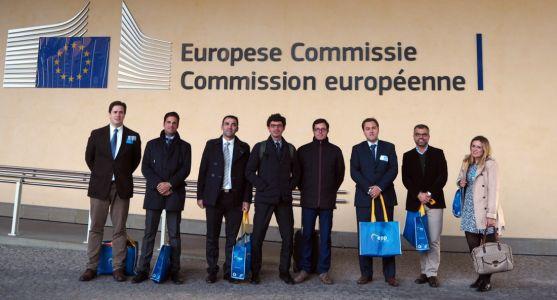 El grupo de emprendedores en su viaje./FOES