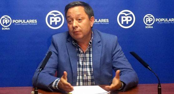 El concejal del Partido Popular en el Ayuntamiento de Soria, Adolfo Sainz.