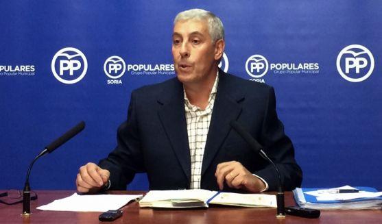 Alberto Rodríguez, concejal del PP en el Ayuntamiento capitalino.