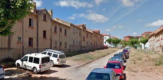 Las antiguas viviendas de los maestros./GM