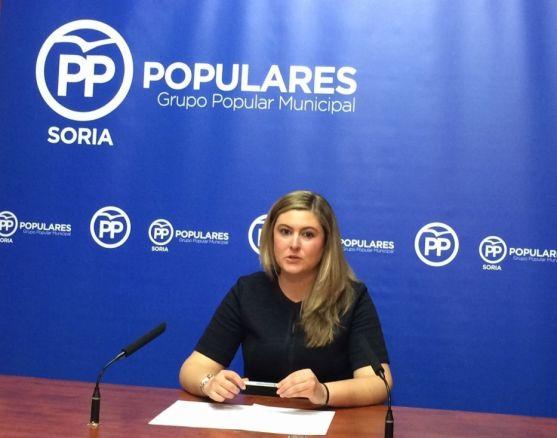 La concejal popular Eva García