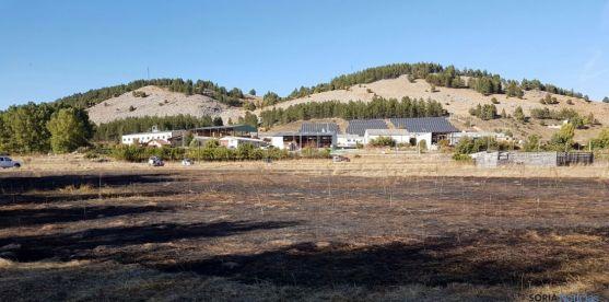 Imagen del lugar del incendio./SN