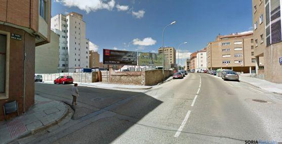 García Solier en la confluencia con la calle Ávila. / GM