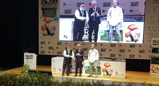 Imagen del Congreso Soria Gastronómica esta mañana de lunes. /SN