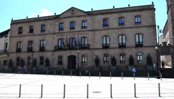 Imagen de la sede de la Diputación./SN