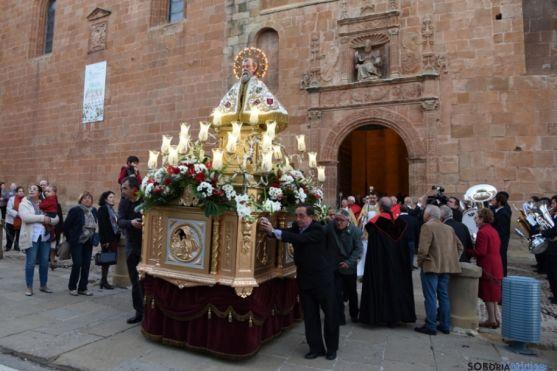 Imagen de San Saturio, patrón de Soria. /SN