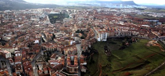 Vista aérea de la ciudad. / SN