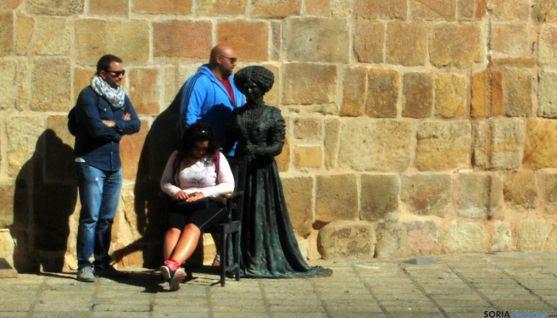 Turistas este verano en Soria. / SN