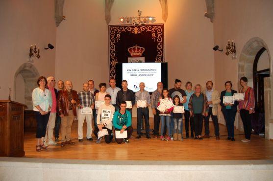 Entrega de premios del rally fotográfico de Diputación. /SN