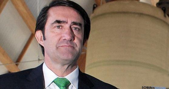 El consejero de Fomento, Juan Carlos Suárez-Quiñones. / SN
