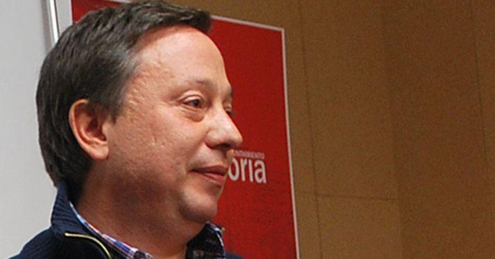 El concejal del PP en el Ayuntamiento de Soria, Adolfo Sainz./SN