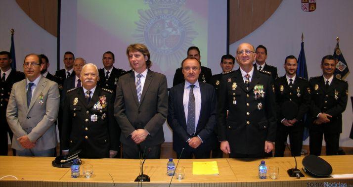 Acto de los patronos del CNP este martes en Soria.