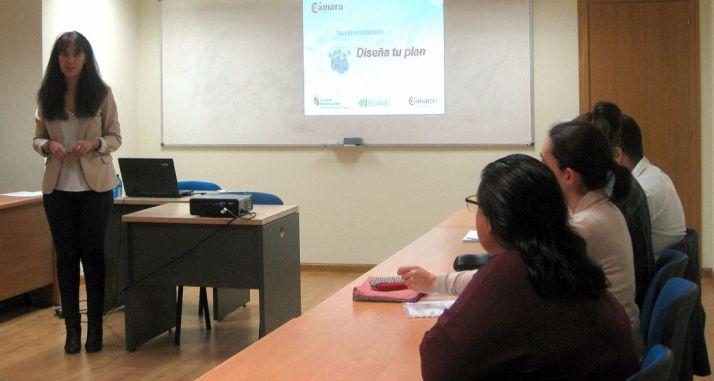 Imagen del primer taller del ciclo formativo./CCS