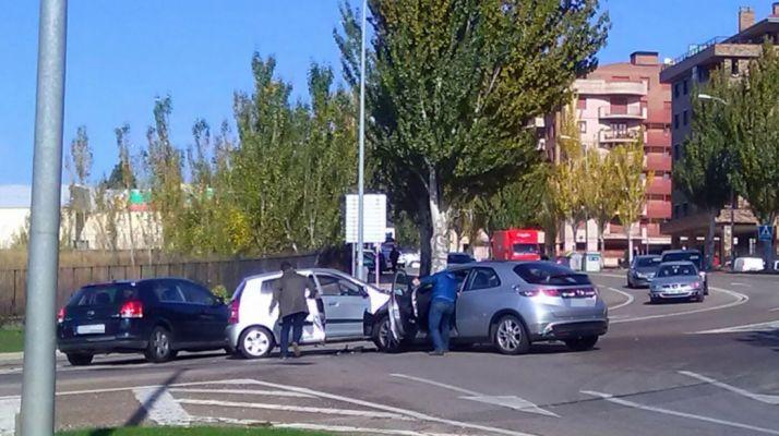 Imagen instantes después del accidente./SN