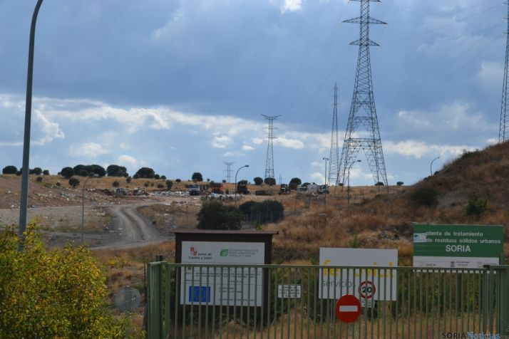 Imagen de la planta de residuos de Golmayo. /SN