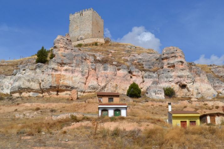 Torre del Castillo de Langa de Duero.