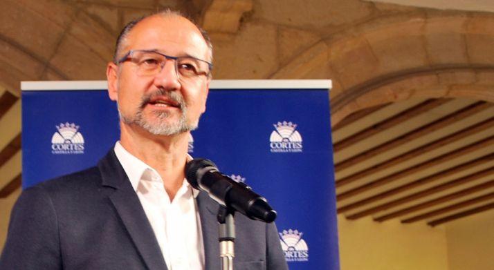 Luis Fuentes, de C's en Castilla y León./SN