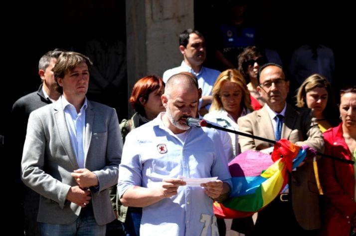 Soria contra al homofobia en Soria.