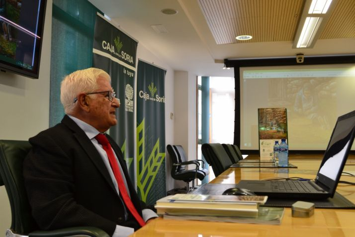 Carlos Martínez y Ruiz Liso durante la presentación. SN