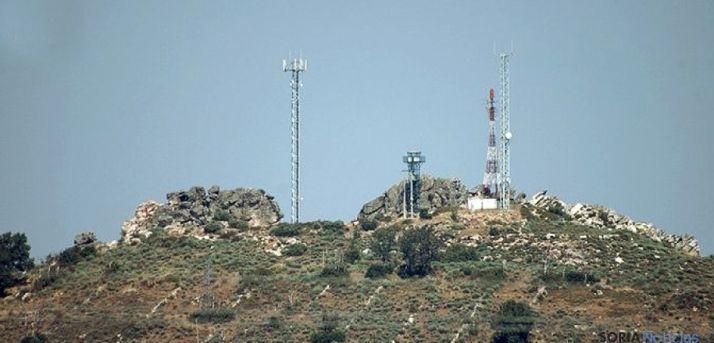 Un centro repetidor de la señal de TDT./SN