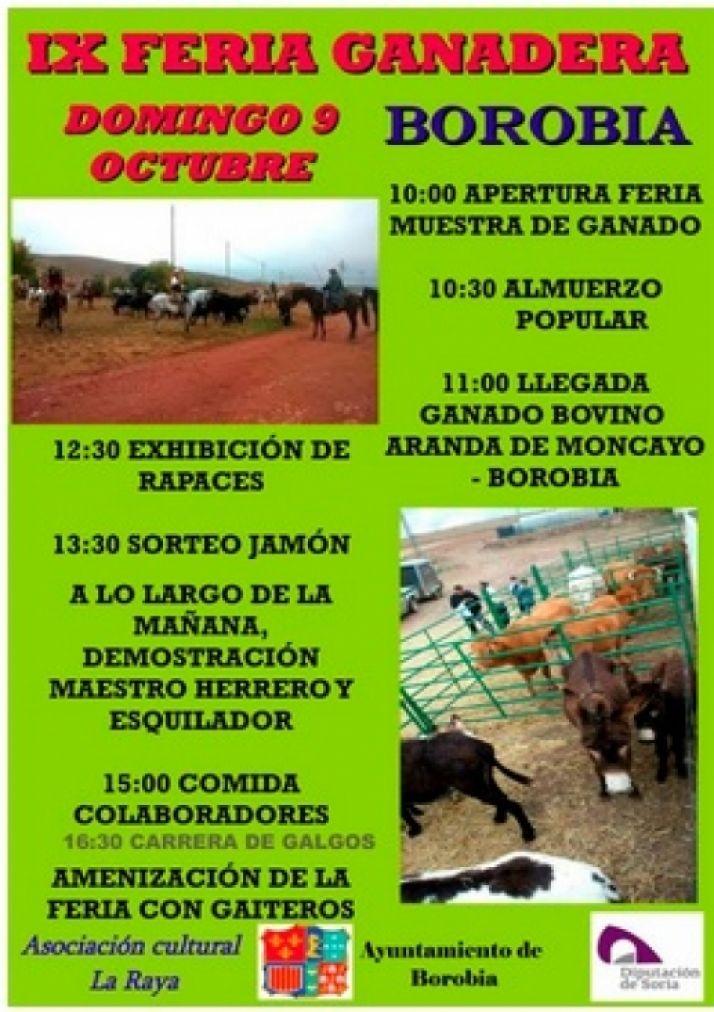 Foto 1 - Feria ganadera en Borobia con carrera de galgos