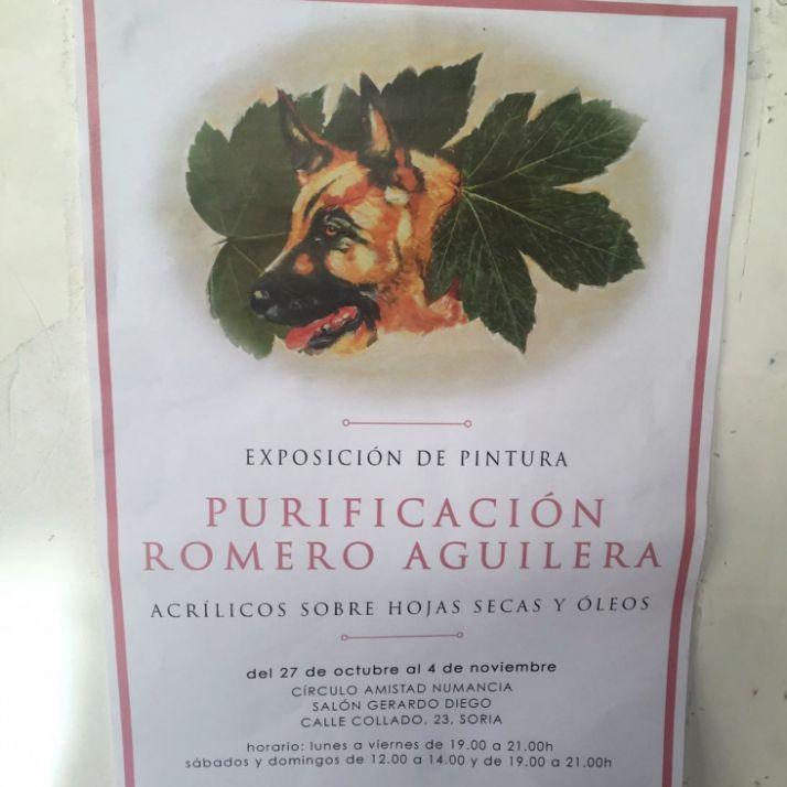 Foto 1 - Exposición de Purificación Romero Aguilera