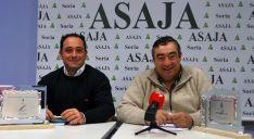 Carmelo Gómez (izda.) y David Hernández. /SN
