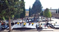Una imagen del cementerio este martes 1. / SN