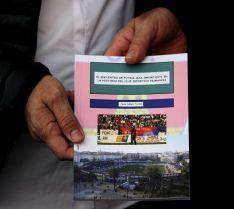 Imagen de la presentación del libro. / SN