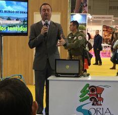 Alcalde Burgo de Osma en Intur. AYTO BURGO DE OSMA