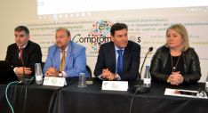 Castro (izda.), Hernando, Fdez. Carriedo y Ortega.